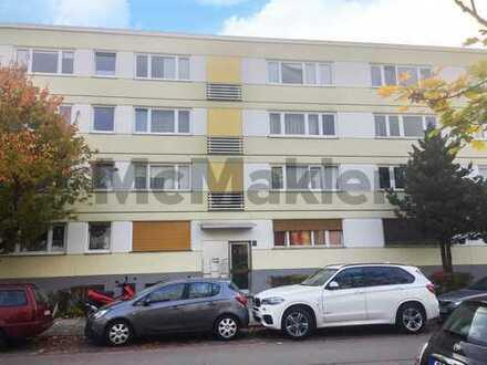 Kapitalanlage: Vermietete 1-Zi.-ETW mit Balkon am Weißenseepark in München - Renovierungspotenzial