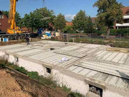 Neubauwohnung in Gümmer mit Garten und Fahrstuhl-Barrierefrei/Altersgerechtes Wohnen