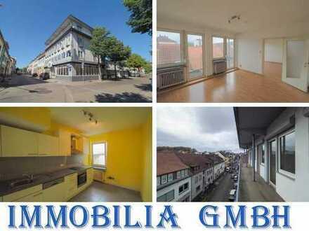 FERNBLICK - Helle 2,5-ZKB Wohnung im 3.OG in der Innenstadt von Zweibrücken