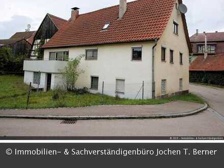 Älteres, ordentliches Einfamilienhaus in Oberrot Mitte.