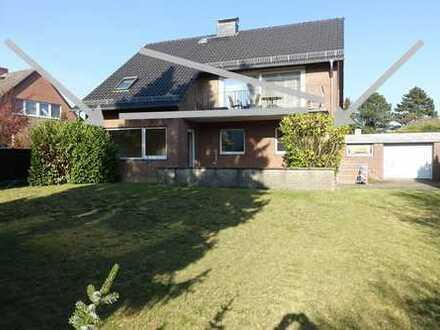 BS-Schapen, r. Lage, EG-Whg m. Garten, 3 Zi., ca. 105 m²-Wfl., 2 neue Bäder, 1 Gara, keine Küche