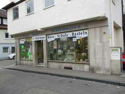 Gut eingeführtes Ladengeschäft in Schwäbisch Gmünd