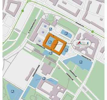 Arbeiten Sie in der Innenstadt? Hier finden Sie den Stellplatz für Ihr Auto !