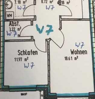Schöne 2- Zimmer Wohnung