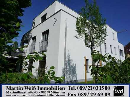 Moderner Neubau: 4-Zimmer-Premium-Wohnung mit großer Loggia/Balkon in Harlaching