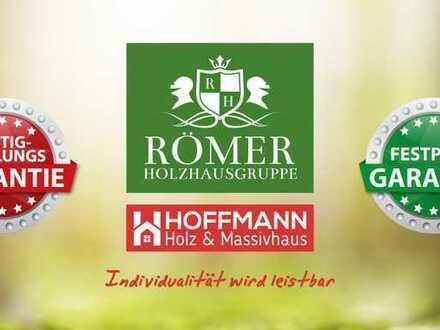 "n. Baugebiet: ""Römer"" Öko-Lehm-Holzhaus/Holzmassivhaus schlüsselfertig"