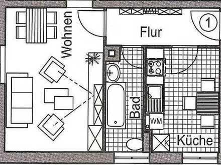 Schöne 2-Raum-Wohnung im Erdgeschoss