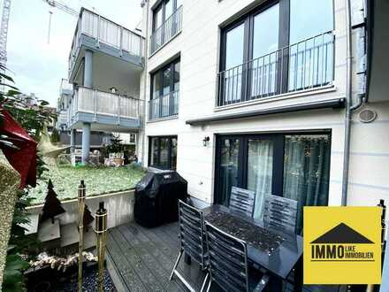 Gemütlich Wohnen mit eigenem Garten - Neuwertige Eigentumswohnung in Frankfurt