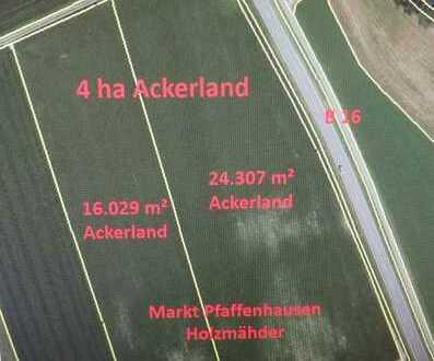 4 ha Ackerland