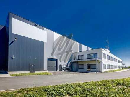 KEINE PROVISION ✓ NEUBAU ✓ Lager-/Logistikflächen (3.500 m²) & Büroflächen (500 m²) zu vermieten