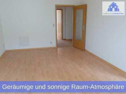 Geräumige & sonnige Raum-Atmosphäre in liebevoll sanierter 3-Raum Neubau-Wohnung in Chemnitz!