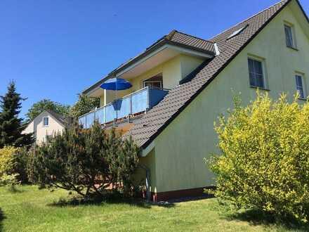Exklusive, gepflegte 3-Zimmer-Maisonette-Wohnung mit Balkon und EBK in Zinnowitz