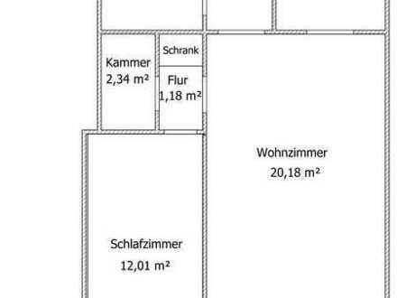 Schöne, gepflegte 2-Zimmer-Wohnung mit Balkon, Einbauküche und Stellplatz in Alterlangen