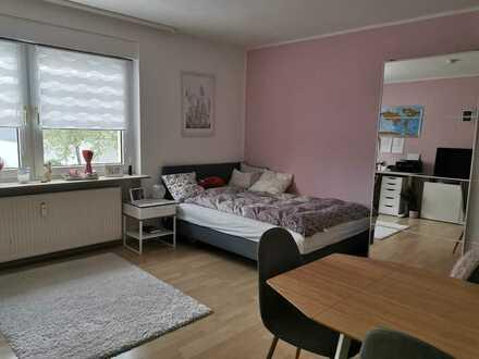Möblierte, geräumige 1-Zimmer Wohnung, Pforzheim Nordstadt, zur Untermiete für 13 Monate