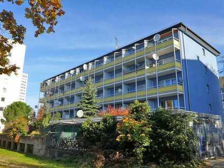 Vermietete Zwei-Zimmerwohnung mit Balkon und TG-Stellplatz in Mühlburg