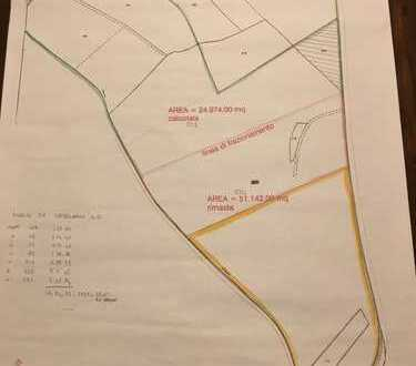 11 ha Grundstück für Weinberg im Süden des Gardasee / Italien