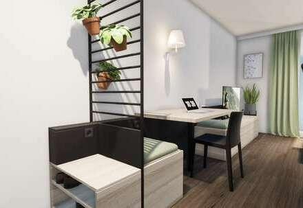 Möbliertes Apartment (Kombieinheit Standard, Typ A/A) mit bis zu 18.000 € Tilgungszuschuss