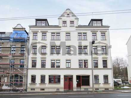 Helle 3-Zi.-Whg. mit Balkon in gut angebundener Lage von Bernsdorf