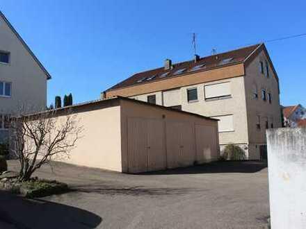 Bebaubares Grundstück für ein 1-bis 2-Familienhaus in guter Lage von Fellbach