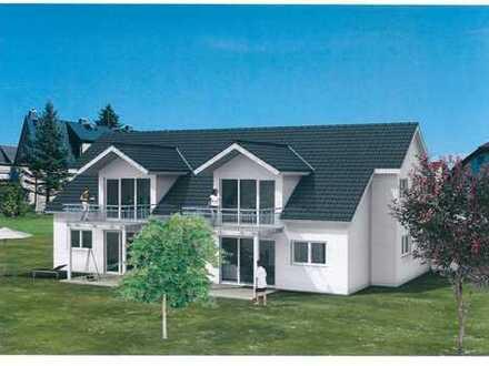 Neubau 3-Zimmer-Dachgeschoss-Wohnung in Schorndorf-Oberberken in einem 4-Familienhaus
