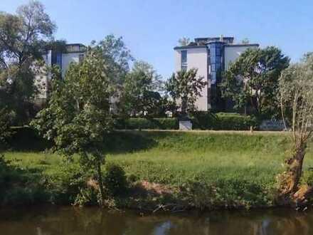 Wohnung mit schönem Ausblick - Direkt am Neckar