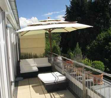 Penthouse am Pasinger Stadtpark mit 2 Dachterrassen 15 & 17qm