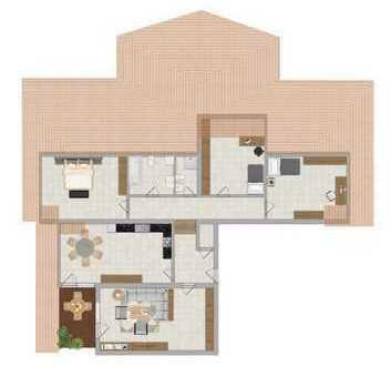 (KA1198) 4 Zimmerwohnung mit Stellplatz