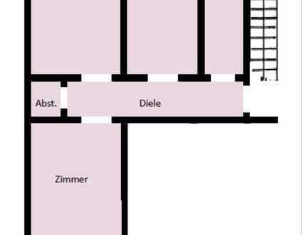 GE-Bismarck: 2 Zim, Küche, Diele, Bad   48 m²   Renoviert   300 € + NK