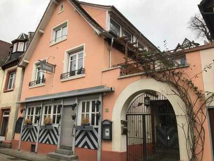 Wunderschönes Cafe/Restaurant im Herzen Zwingenbergs-brauereifrei