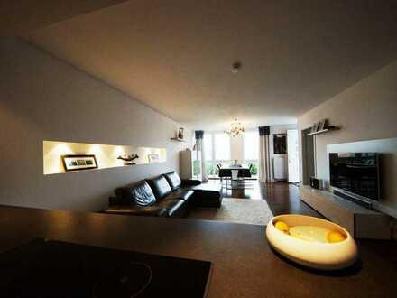 Neuwertige 3,5-Zimmer-Erdgeschosswohnung mit Terrasse in Obrigheim