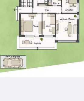 Vollständig renovierte Wohnung mit vier Zimmern sowie Balkon und EBK in Leonberg