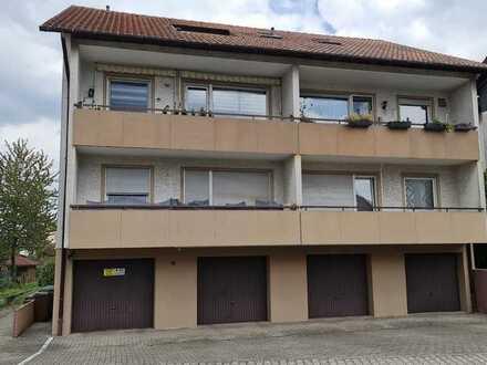 Sehr schöne 3-Wohnung mit Balkon und Garage