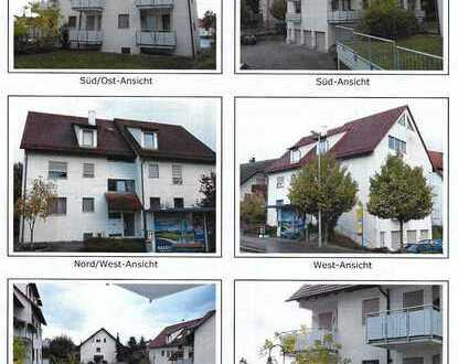 1-Zimmer-Wohnung mit Balkon in Ravensburg/Oberzell