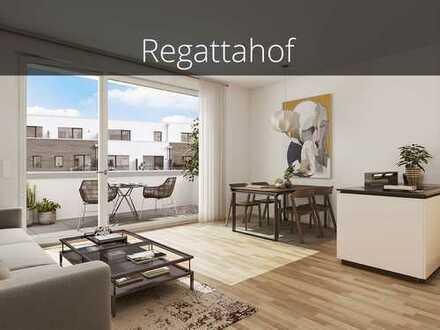 Einziehen und Wohlfühlen! 2-Zimmer-Eigentumswohnung mit Balkon, viel Grün und in Wasserlage!