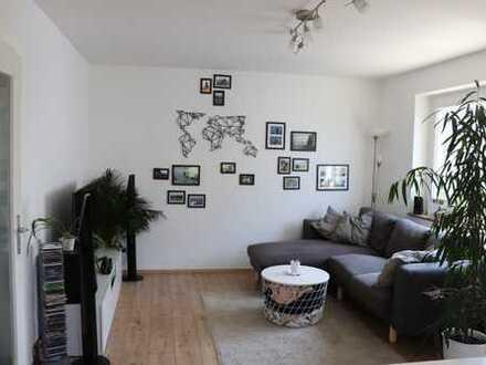 Schöne und sonnige 3-Zimmer-Wohnung mit Balkon und Gartenmitbenutzung in Biberach an der Riß