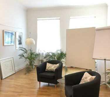NEU*Toplage Innenstadt*Büro /Praxis*2 große Räume in Bürogemeinschaft*sanierter Altbau*Lift*Parkett*