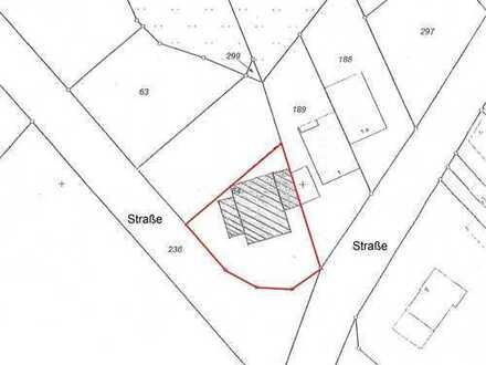 Baugrundstück/positive Bauvoranfrage für Zwei-Familienhaus o. Einfamilienhaus in zentraler Wohnlage