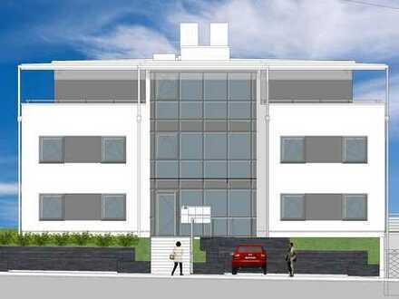 Mit kleinem Garten: Neue 3½-Zimmer-Wohnung mit Einbauküche, großer Terrasse und TG-Platz