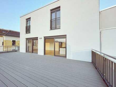 Terrassenwohnung für Sonnenanbeter *** Wohnen an der Weißen Elster * Terrasse & Loggia * EBK * 2