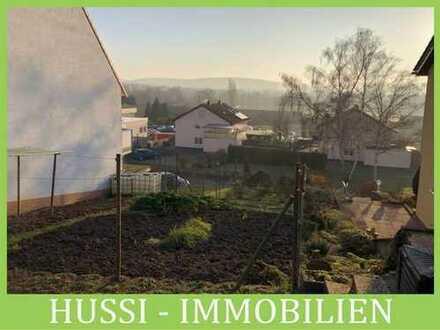 Baugrundstück in Obernburg für DHH in Hanglage mit Weitblick auf den Main