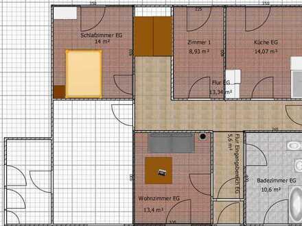 Erschwingliche und gepflegte 3-Zimmer-Erdgeschosswohnung in Enkirch
