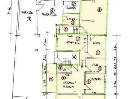 Gemütliche 3,5 Zimmer Erdgeschosswohnung mit Balkon
