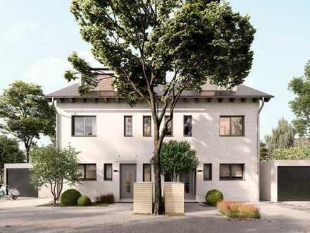 Provisionsfrei: Neubau Doppelhaus in Siegertsbrunn. Mit 18.000 € KfW-55 Förderung.