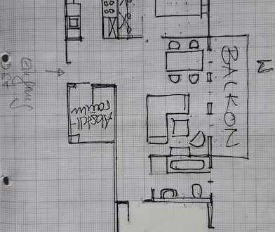 Helles Zimmer in schöner moderner 3 Zimmerwohnung mit toller Aussicht an Wochenendpendlerin zu vermi