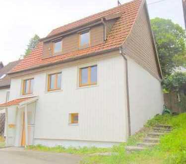 Freundlichen kleines Einfamilienhaus Haus Ferienhaus auf der Schwäbischen Alb