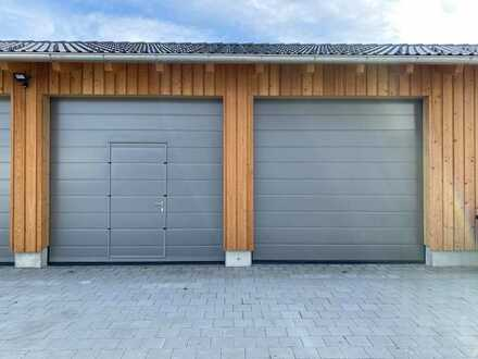 Neue Doppelgarage mit 39 m²