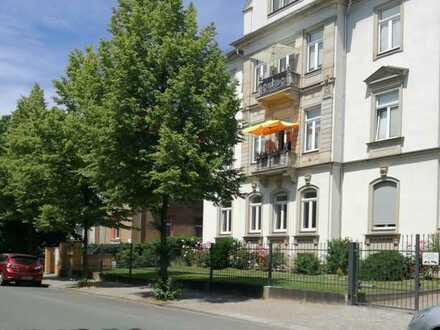 Erstbezug nach Komplettsanierung helle 4-Zimmer-Wohnung in Dresden/Südvorstadt West