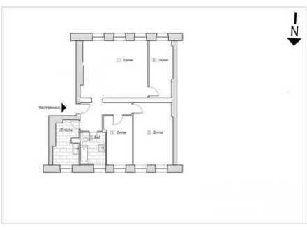 ++Ruhige Lage Gartenhaus-Parkett-Wannenbad-3èr WG Möglich++