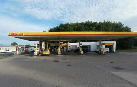 56 m² Service Halle (KFZ-Werkstatt oder Lagerfläche) neben Tankstelle zu vermieten