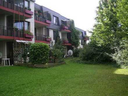 Kapitalanlage mit Idyll: 2-Zimmer-ETW in schönes Wohnanlage mit Rheinnähe